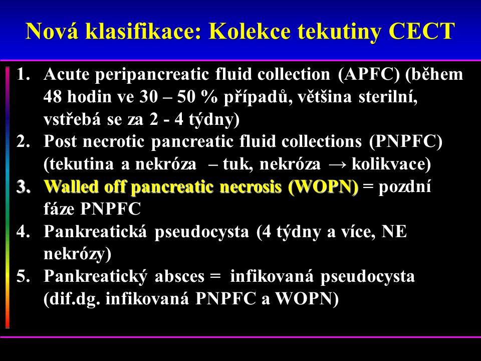 Nová klasifikace: Kolekce tekutiny CECT