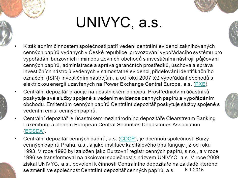 UNIVYC, a.s.