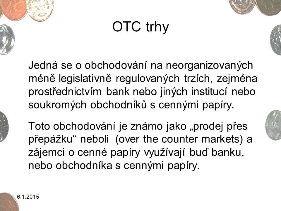 OTC trhy