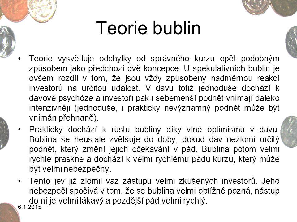 Teorie bublin