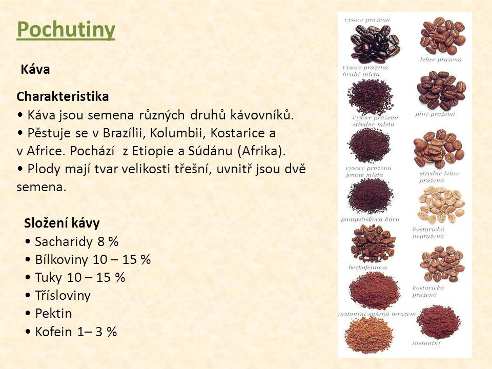 Pochutiny Káva Charakteristika