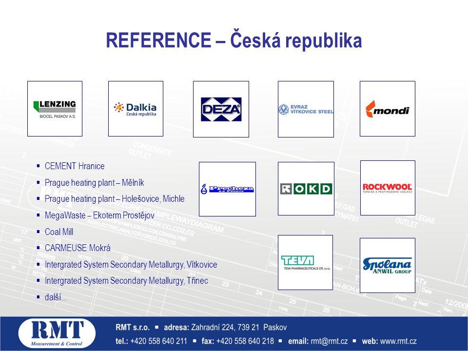 REFERENCE – Česká republika