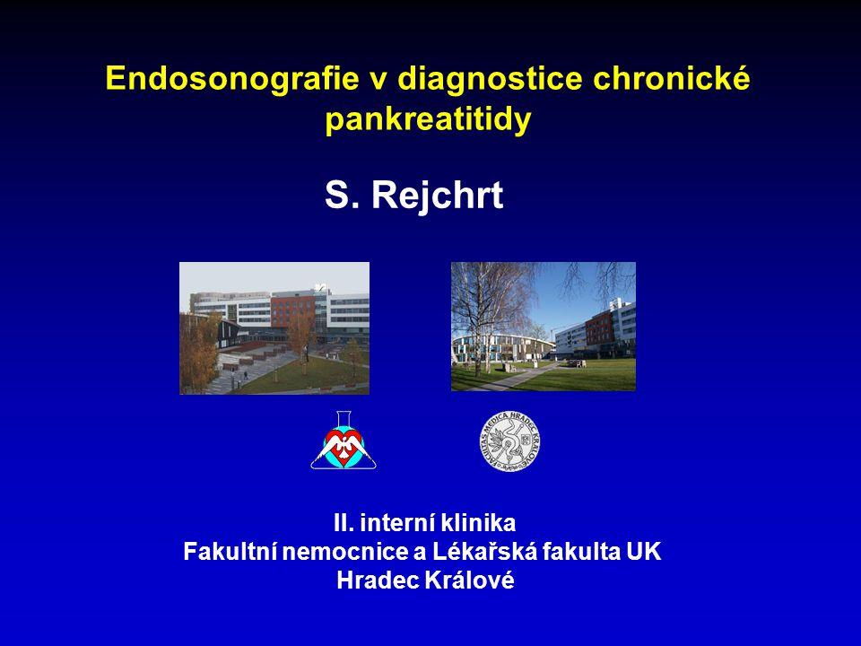 S. Rejchrt Endosonografie v diagnostice chronické pankreatitidy