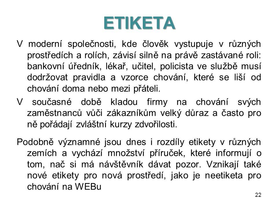 ETIKETA