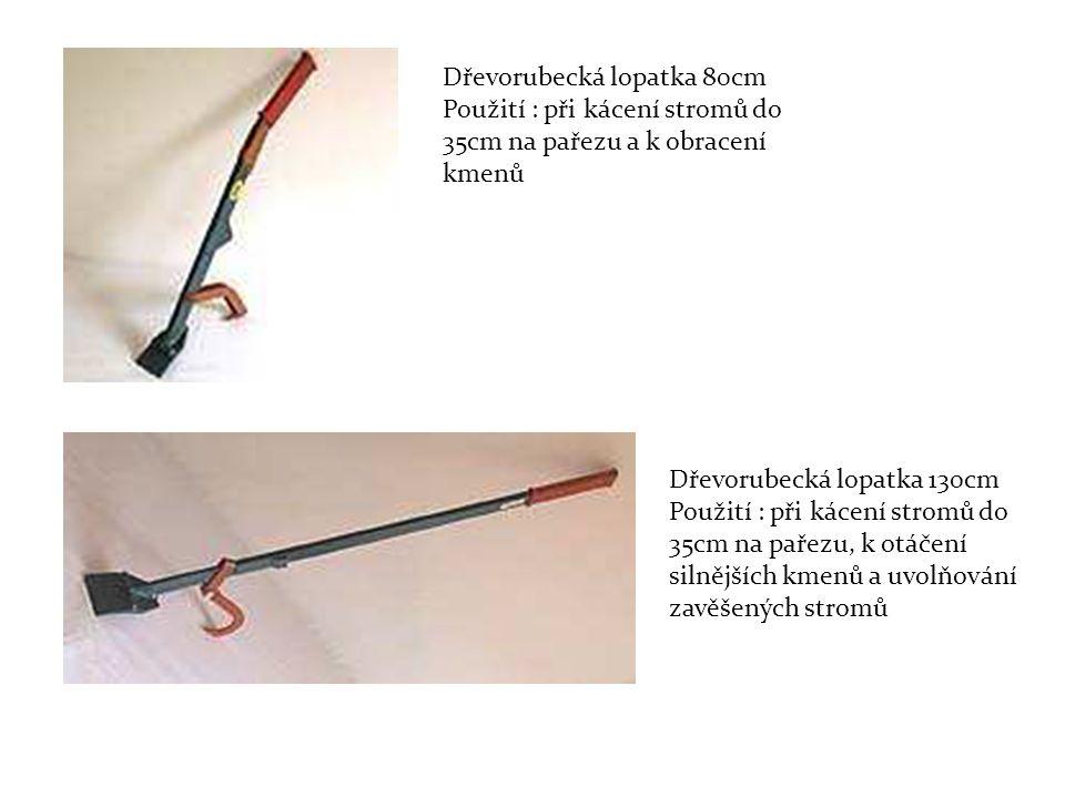 Dřevorubecká lopatka 80cm