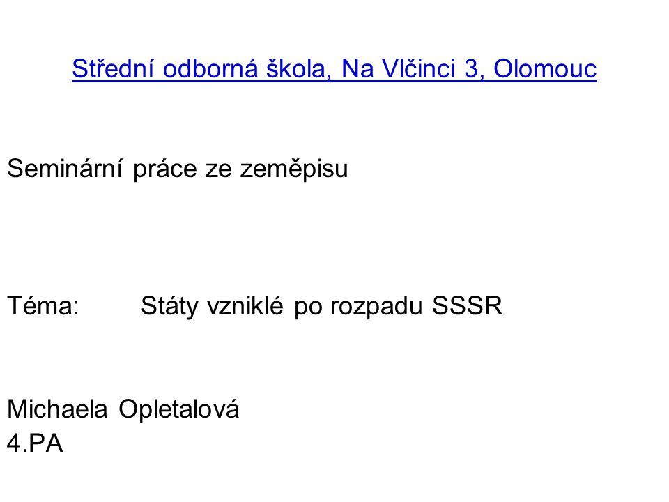 Střední odborná škola, Na Vlčinci 3, Olomouc