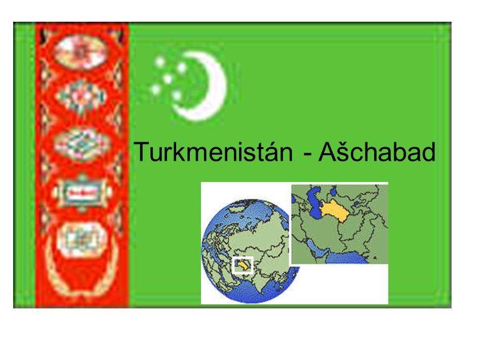 Turkmenistán - Ašchabad