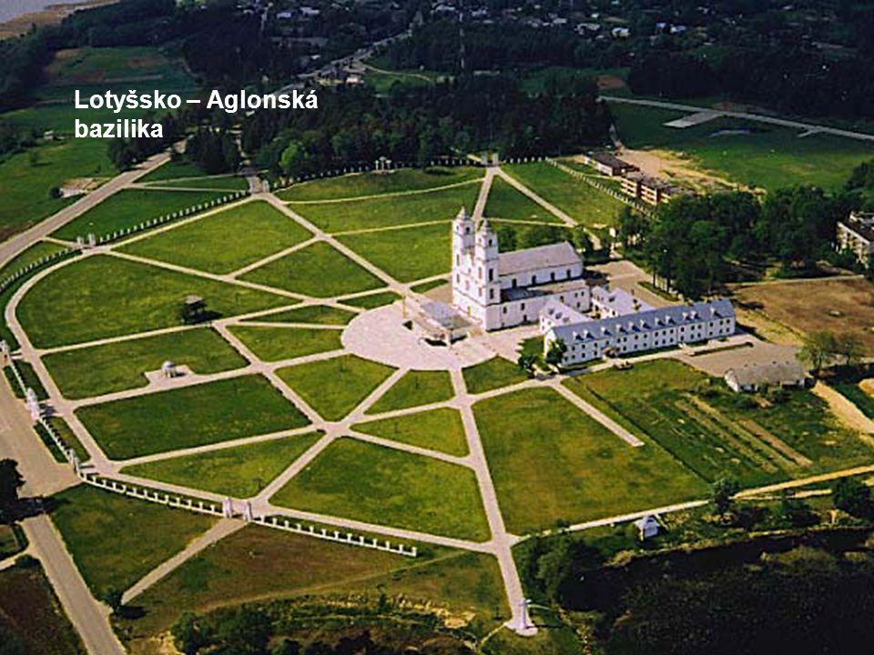 Lotyšsko – Aglonská bazilika