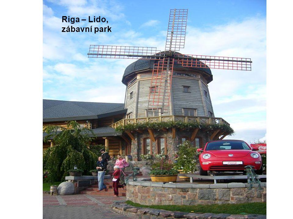 Riga – Lido, zábavní park