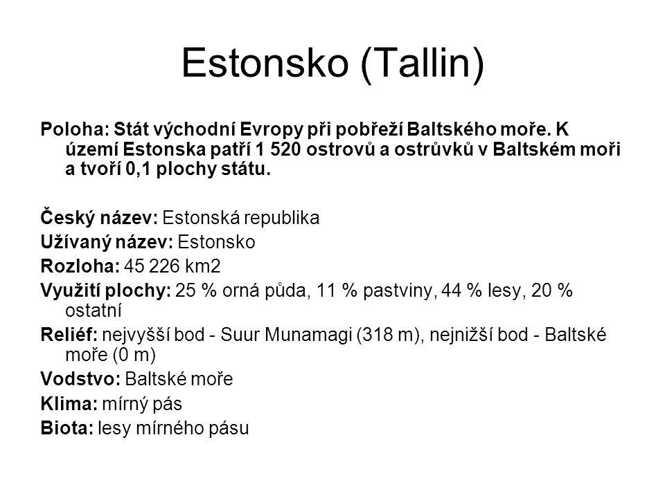 Estonsko (Tallin)