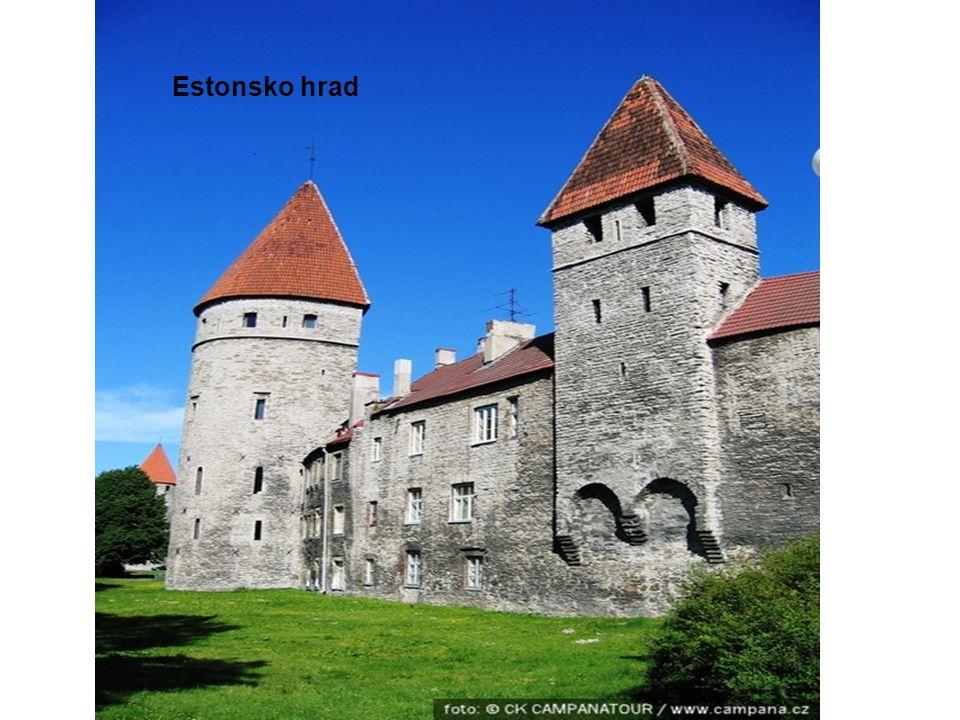 Estonsko hrad