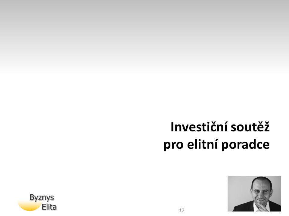 Investiční soutěž pro elitní poradce