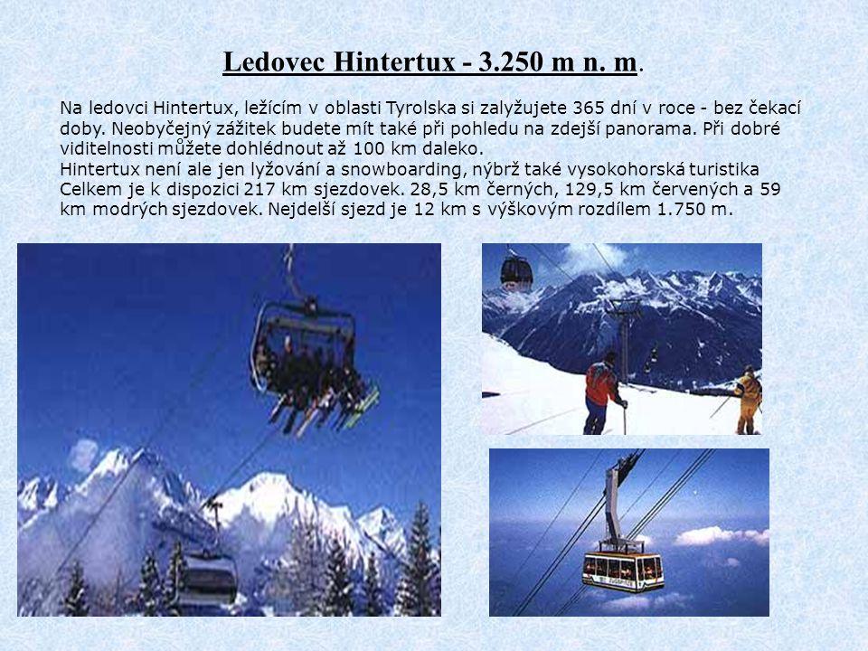 Ledovec Hintertux - 3.250 m n. m.