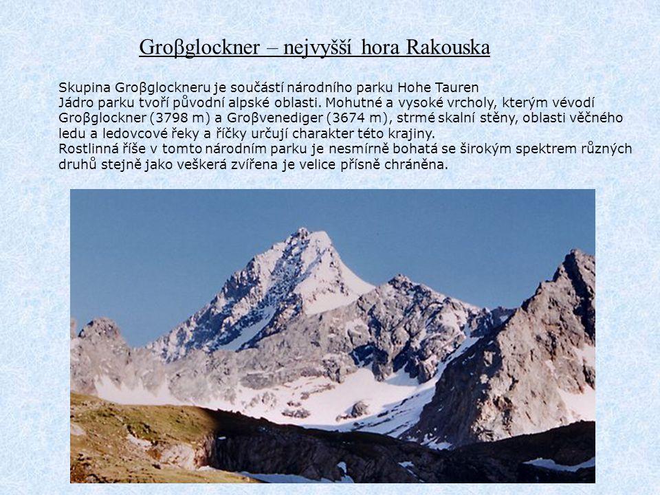 Groβglockner – nejvyšší hora Rakouska