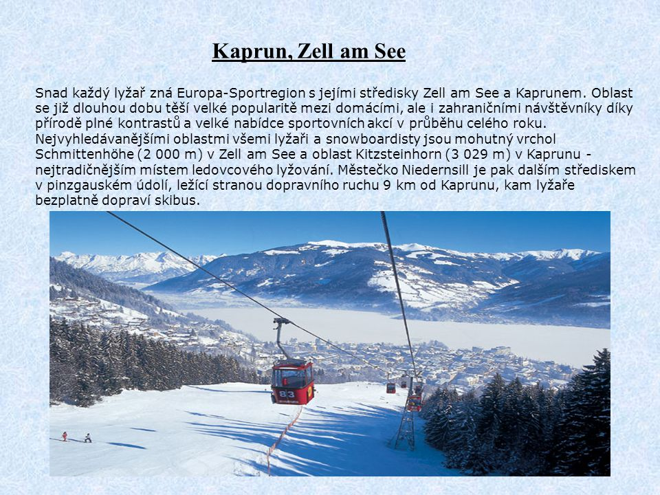 Kaprun, Zell am See