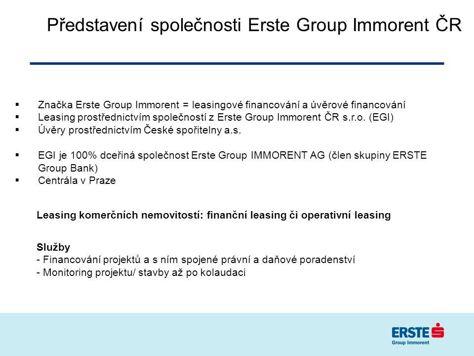 Představení společnosti Erste Group Immorent ČR