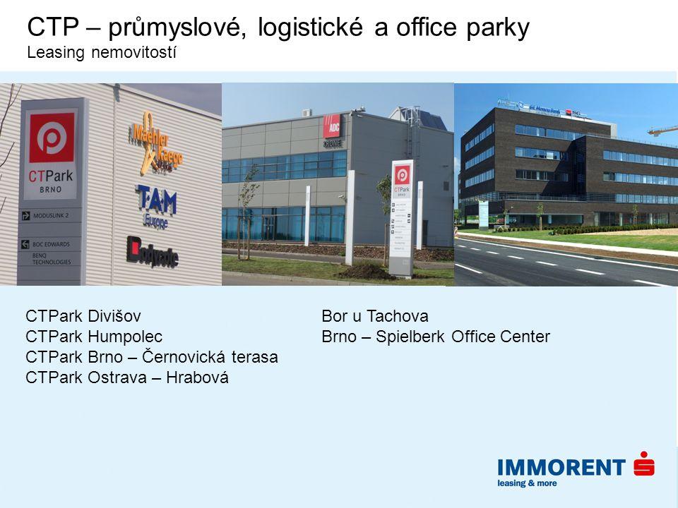 CTP – průmyslové, logistické a office parky