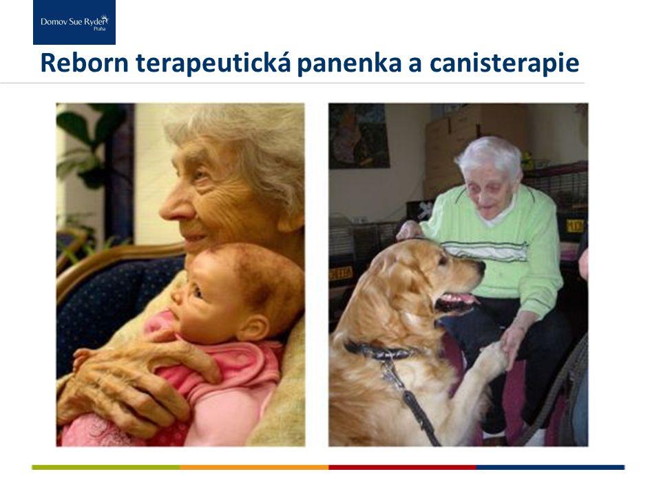 Reborn terapeutická panenka a canisterapie