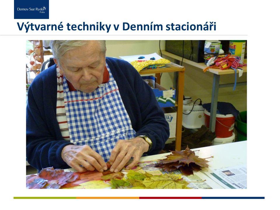 Výtvarné techniky v Denním stacionáři