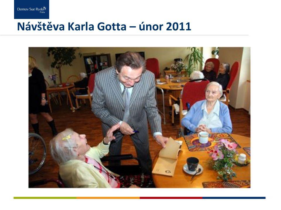 Návštěva Karla Gotta – únor 2011