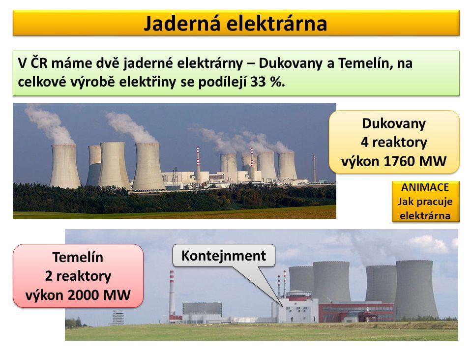 Jak pracuje elektrárna
