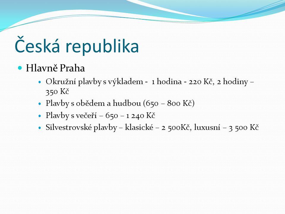 Česká republika Hlavně Praha