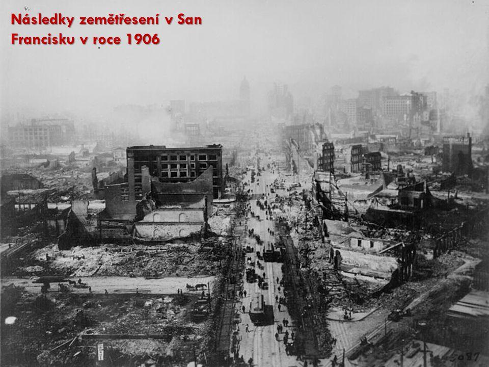 Následky zemětřesení v San Francisku v roce 1906