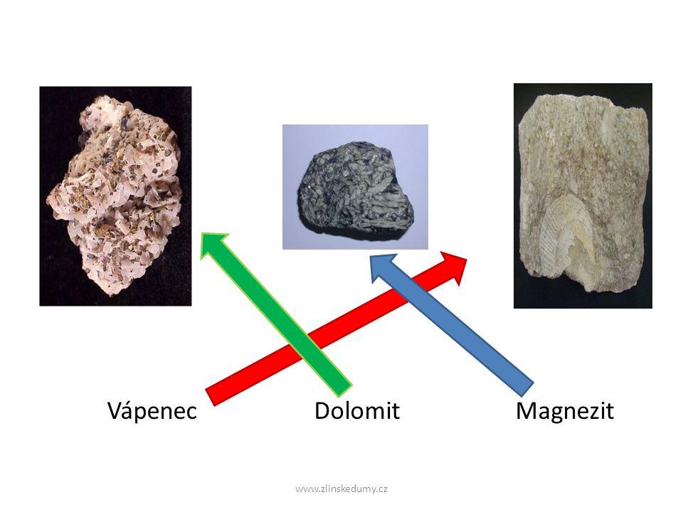 Vápenec Dolomit Magnezit