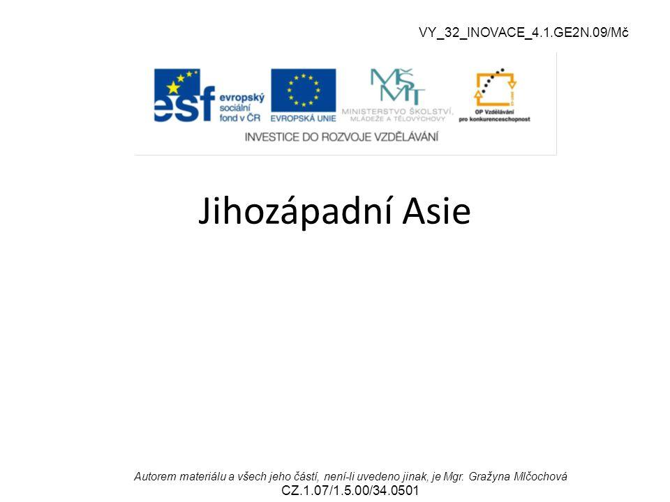 VY_32_INOVACE_4.1.GE2N.09/Mč Jihozápadní Asie