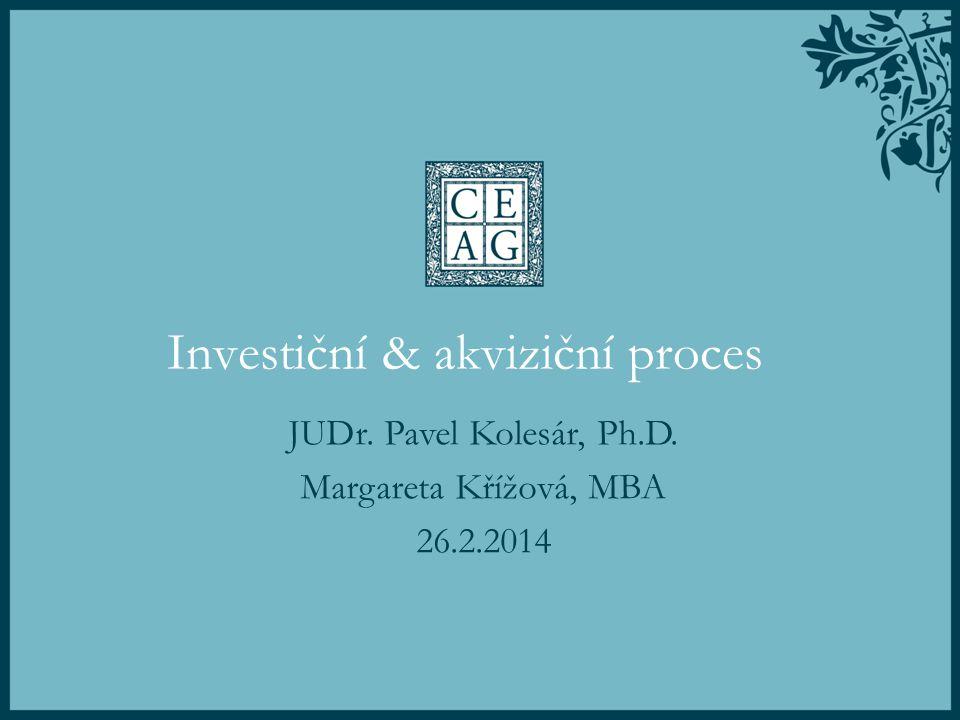 Investiční & akviziční proces