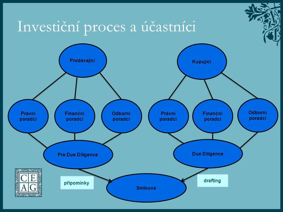 Investiční proces a účastníci