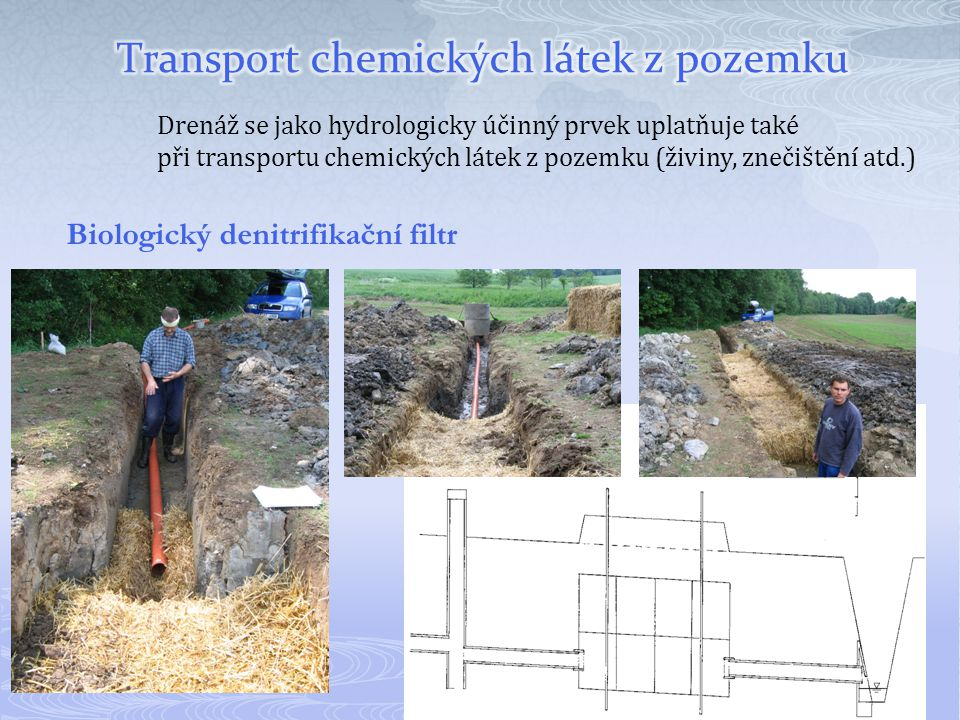 Transport chemických látek z pozemku