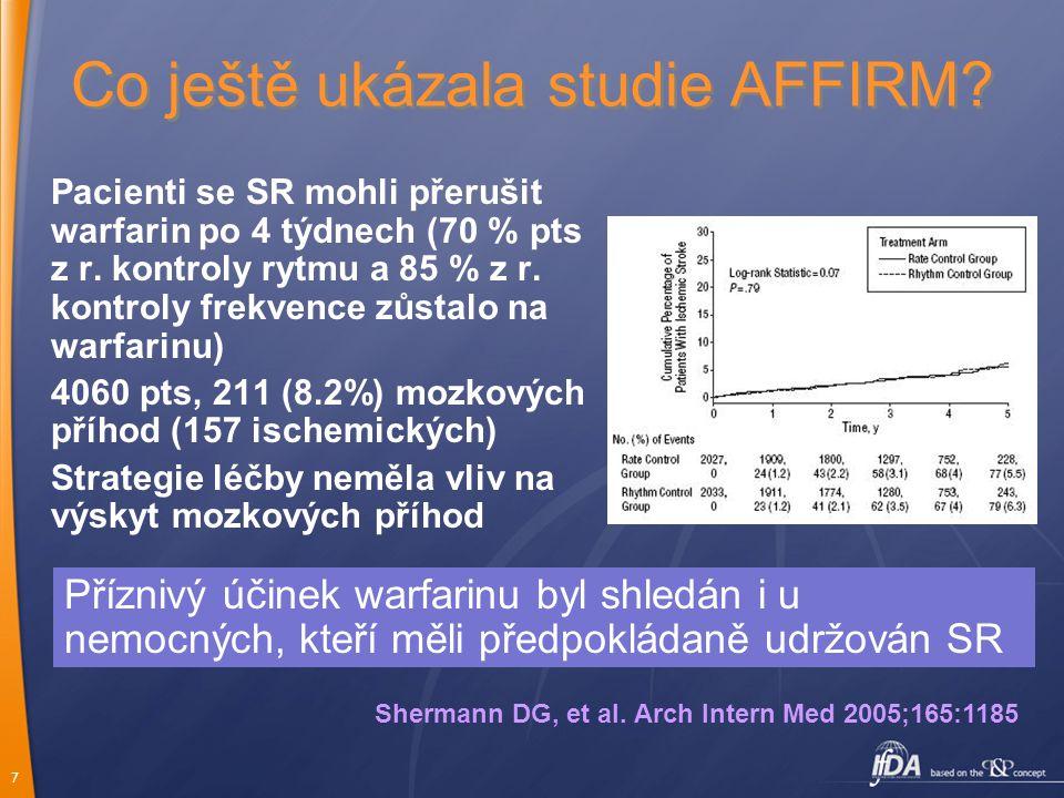 Co ještě ukázala studie AFFIRM