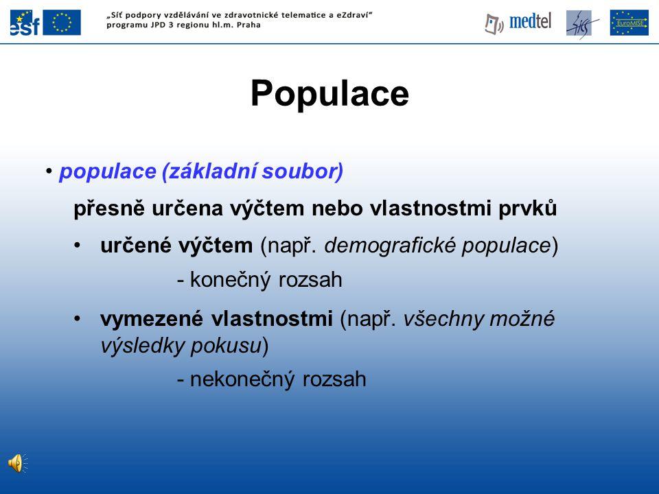 Populace populace (základní soubor)