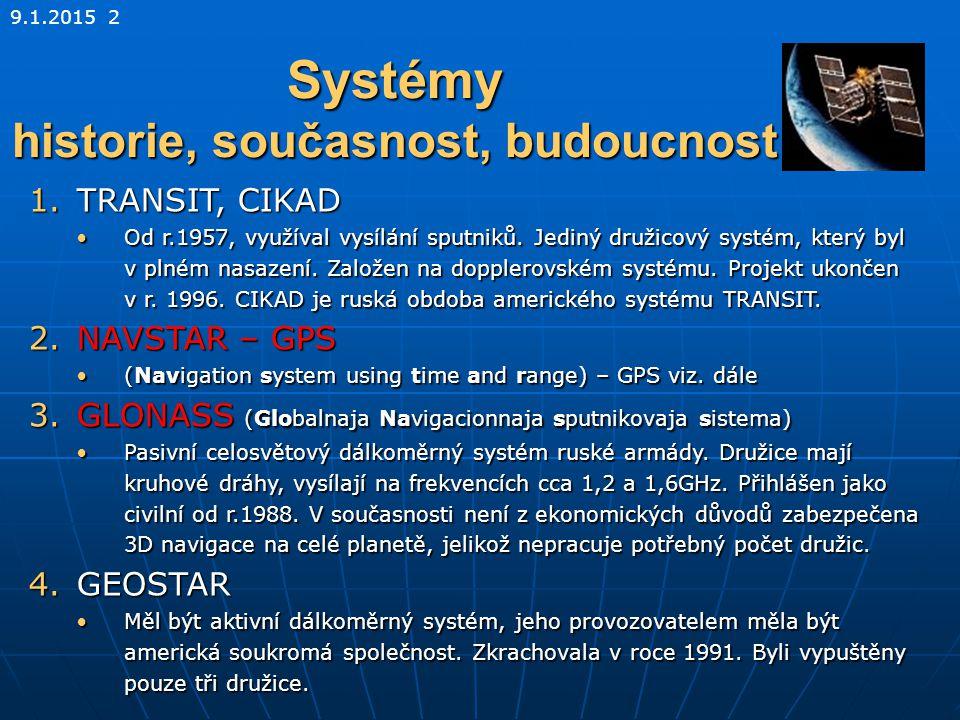 Systémy historie, současnost, budoucnost