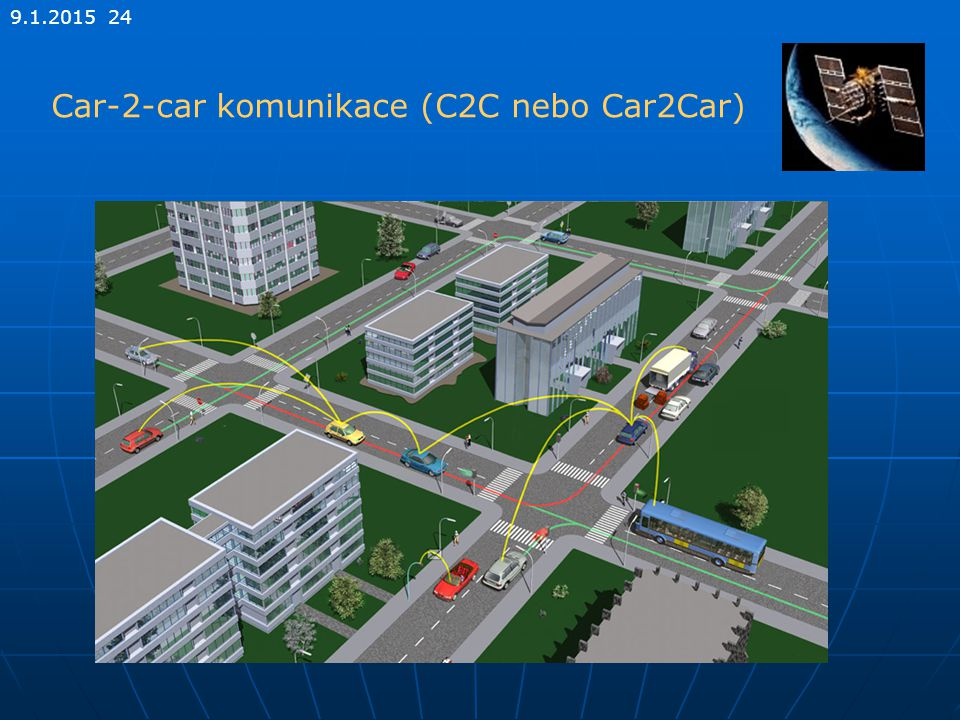 Car-2-car komunikace (C2C nebo Car2Car)