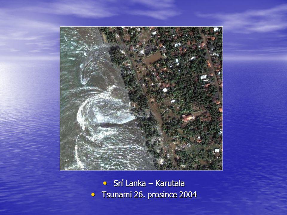 Srí Lanka – Karutala Tsunami 26. prosince 2004