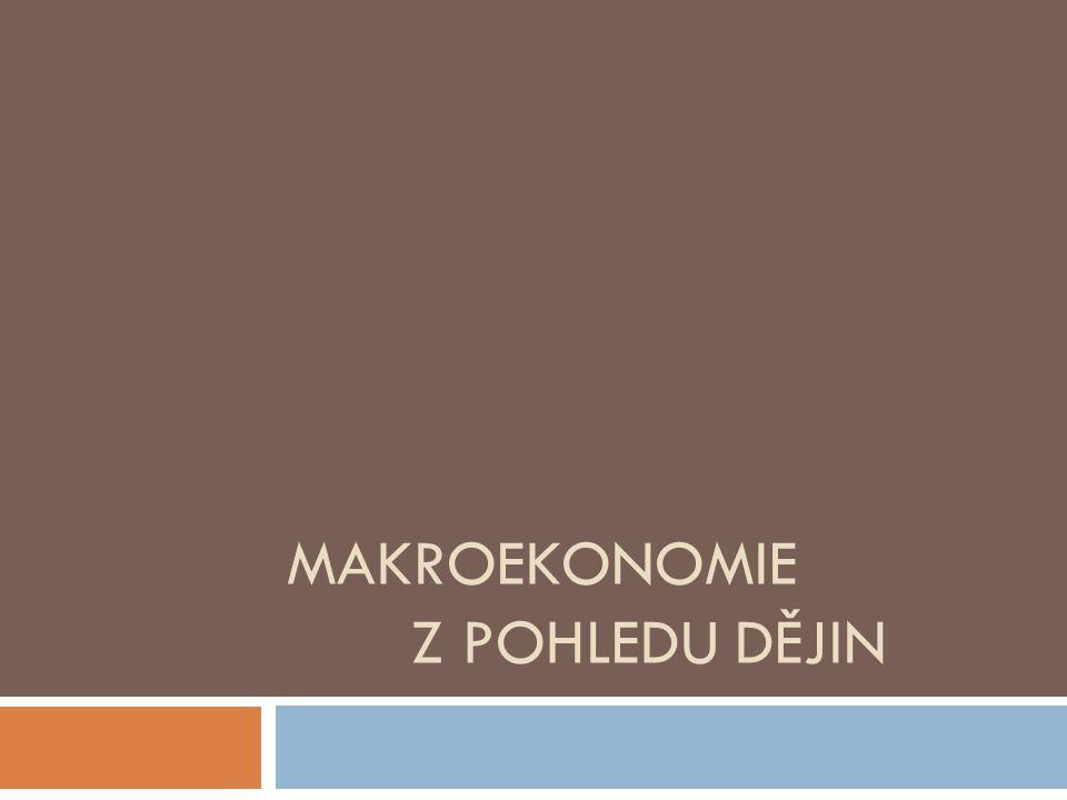 Makroekonomie z pohledu dějin