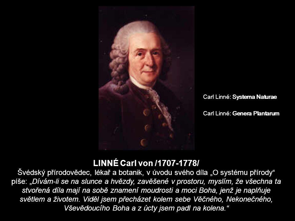 Carl Linné: Systema Naturae