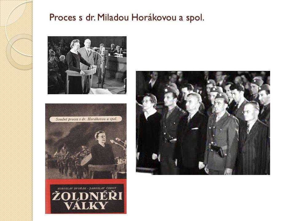 Proces s dr. Miladou Horákovou a spol.