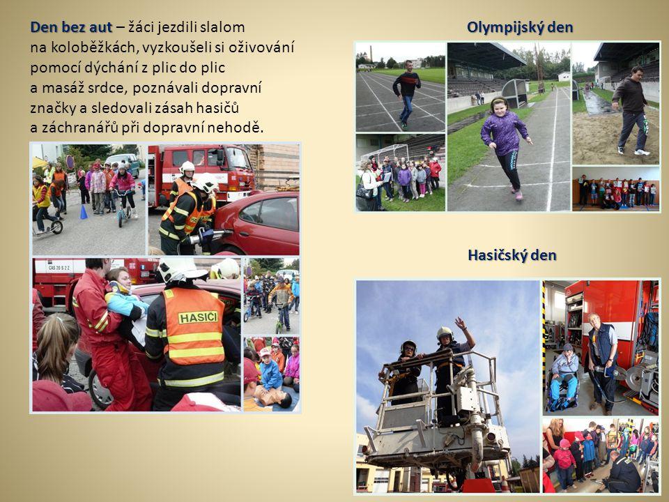Den bez aut – žáci jezdili slalom