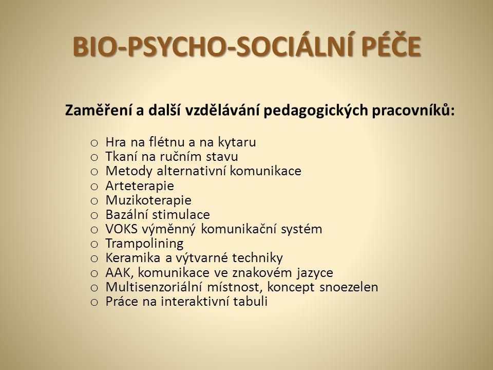 BIO-PSYCHO-SOCIÁLNÍ PÉČE