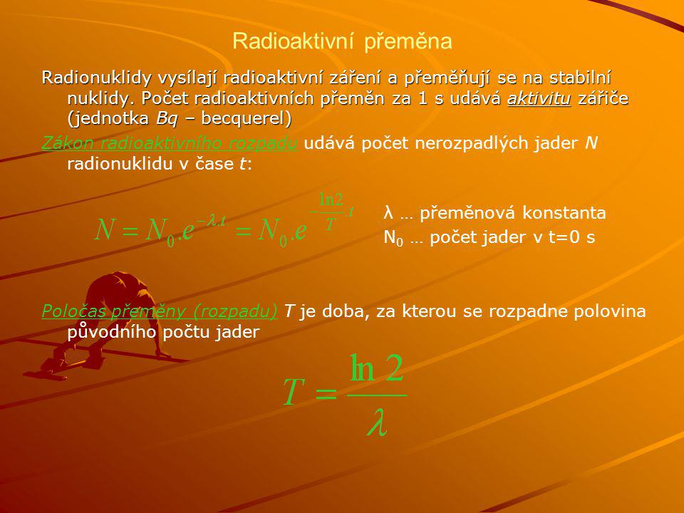 Radioaktivní přeměna