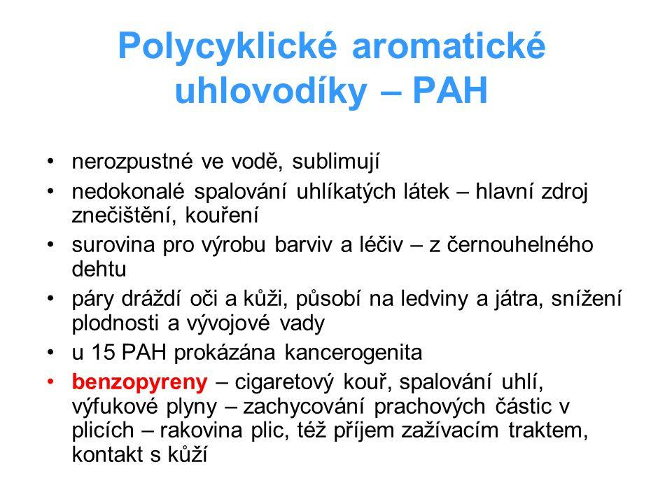 Polycyklické aromatické uhlovodíky – PAH