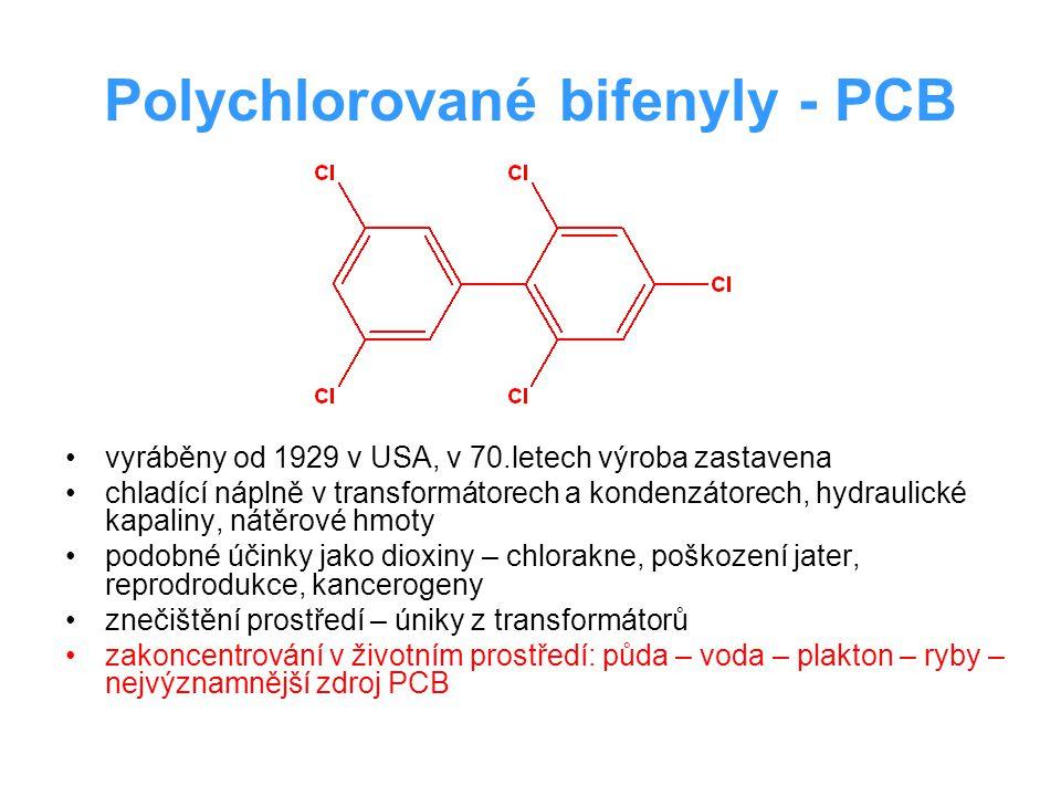 Polychlorované bifenyly - PCB