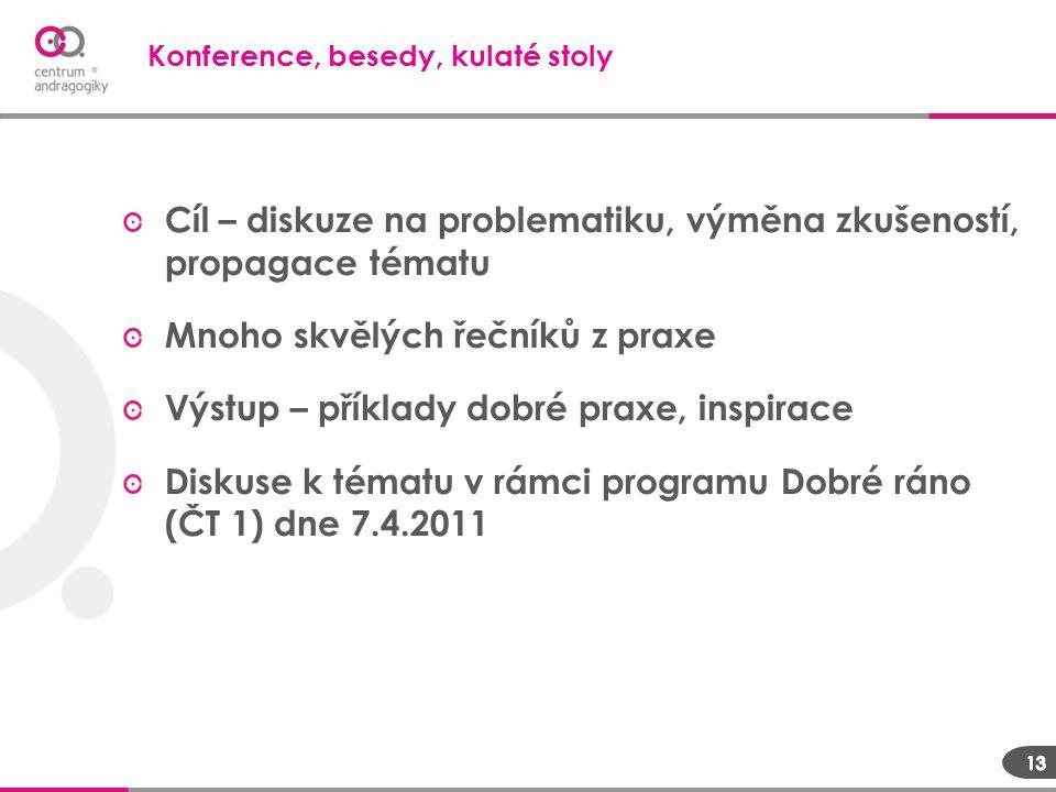 Konference, besedy, kulaté stoly