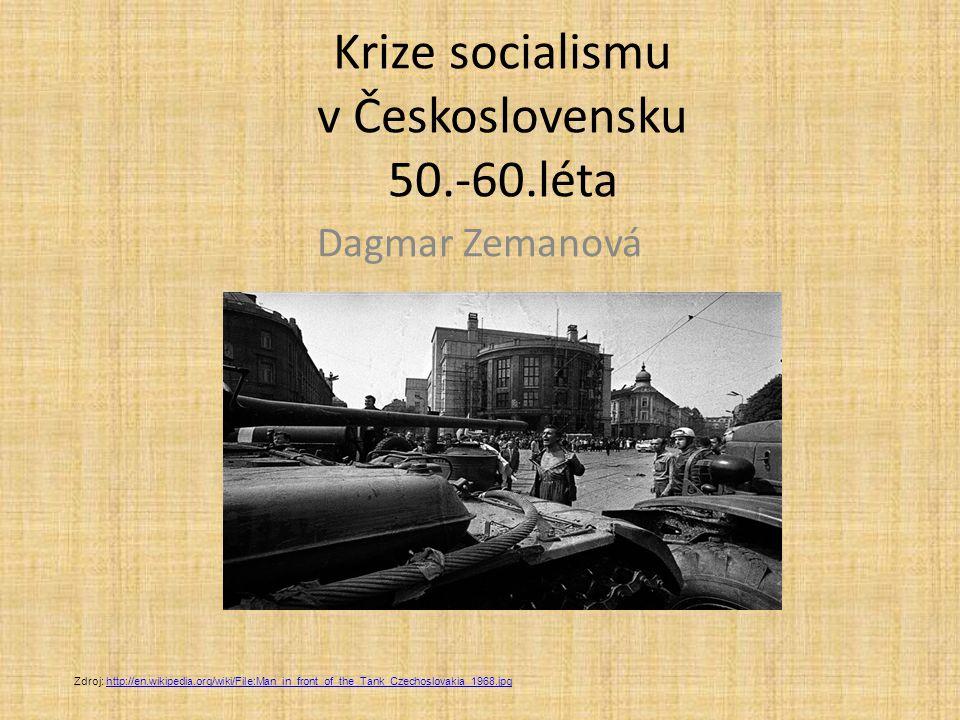 Krize socialismu v Československu 50.-60.léta