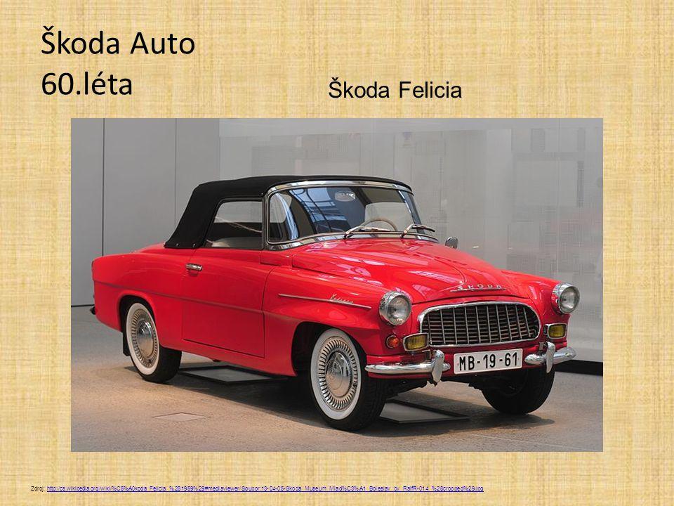 Škoda Auto 60.léta Škoda Felicia