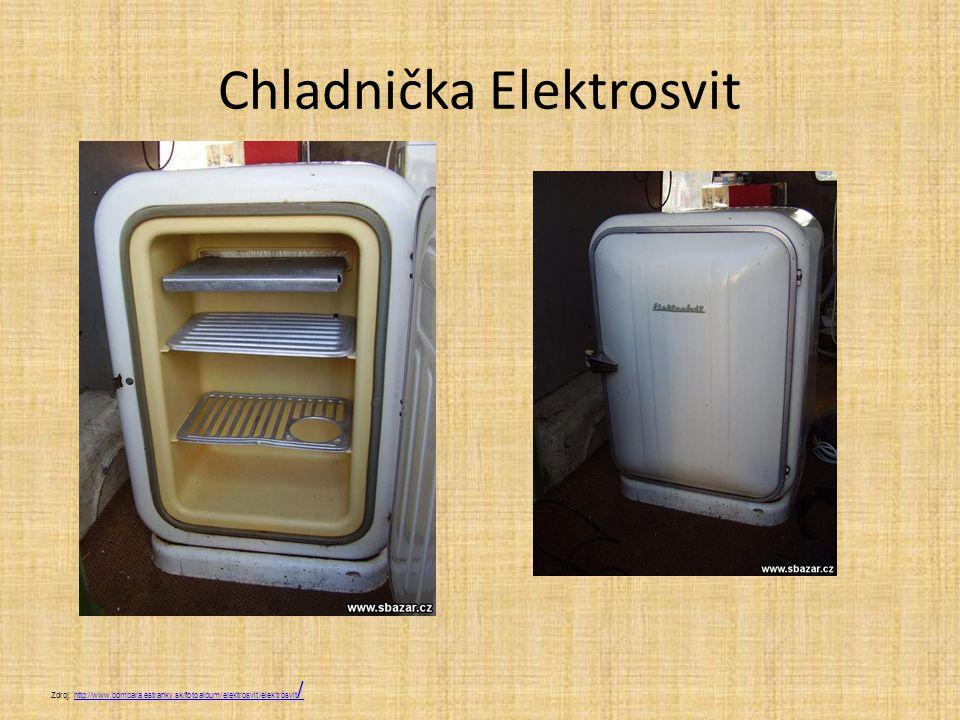 Chladnička Elektrosvit