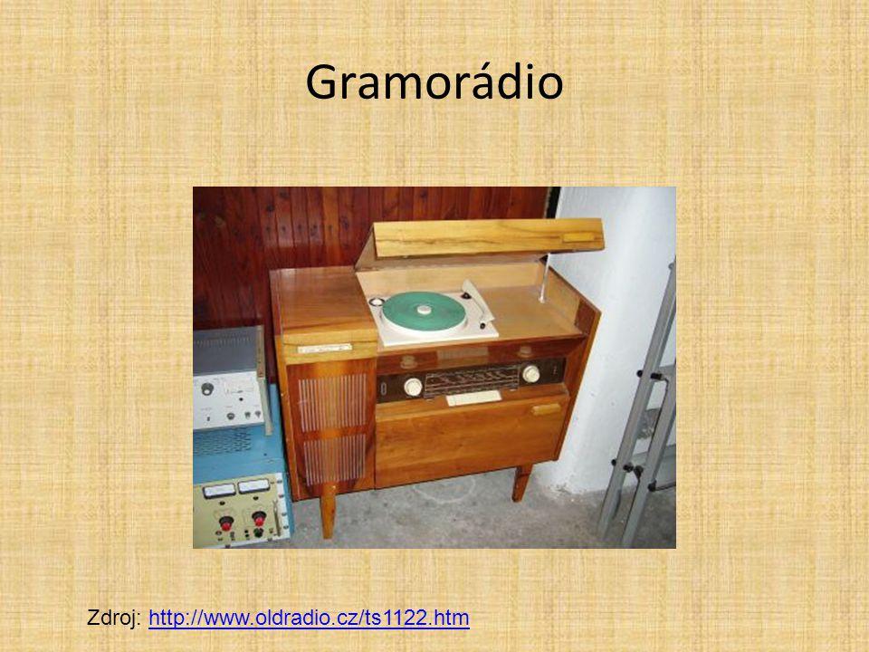 Gramorádio Zdroj: http://www.oldradio.cz/ts1122.htm